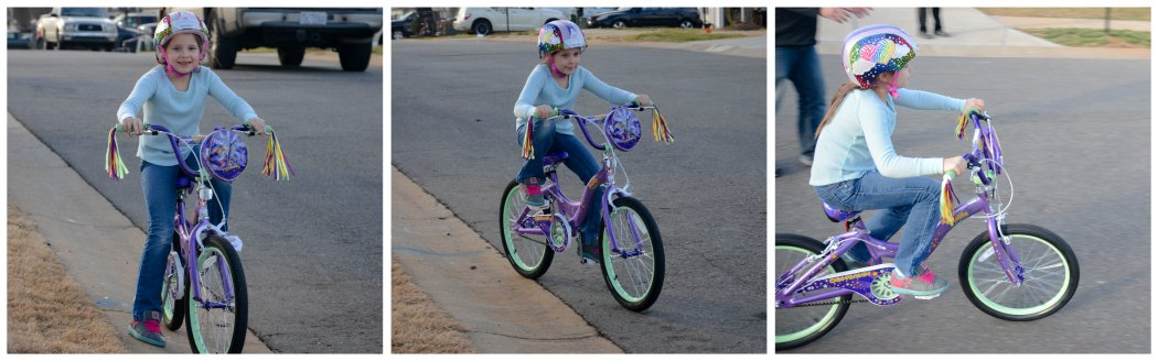 lexie's new bike