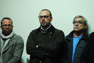 L'assessore  Nicola Berardi e il consigliere Franco Delliturri
