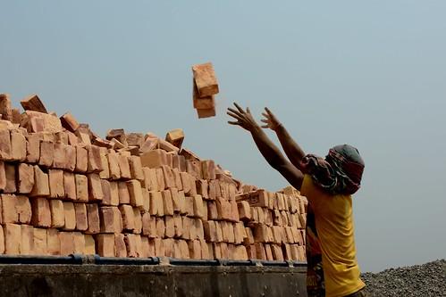brick work livelihood rangpur