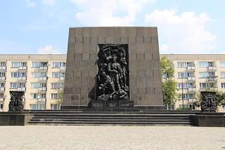 Warszawa - Pomnik Bohaterów Getta
