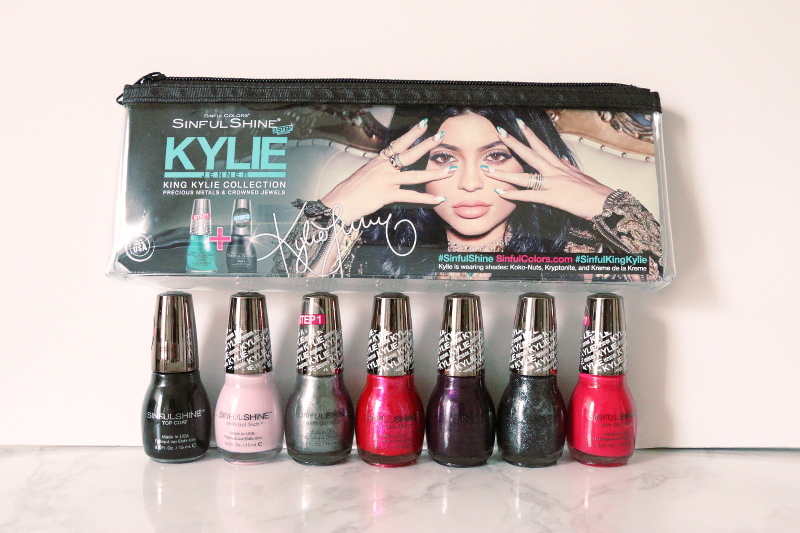 How to Remove Gel Nail Polish + SinfulShine Kylie Jenner Collection ...
