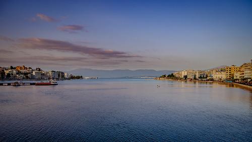 blue sea flickr nightshot dusk greece gr chalkida ioannisdg thessaliastereaellada ioannisdgiannakopoulos gofvarious