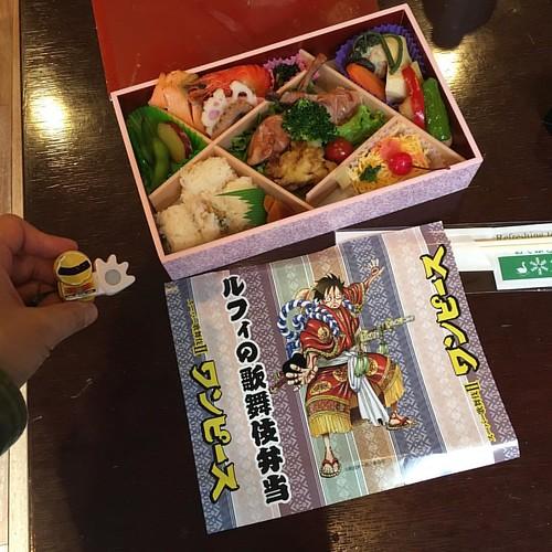 ルフィの歌舞伎弁当