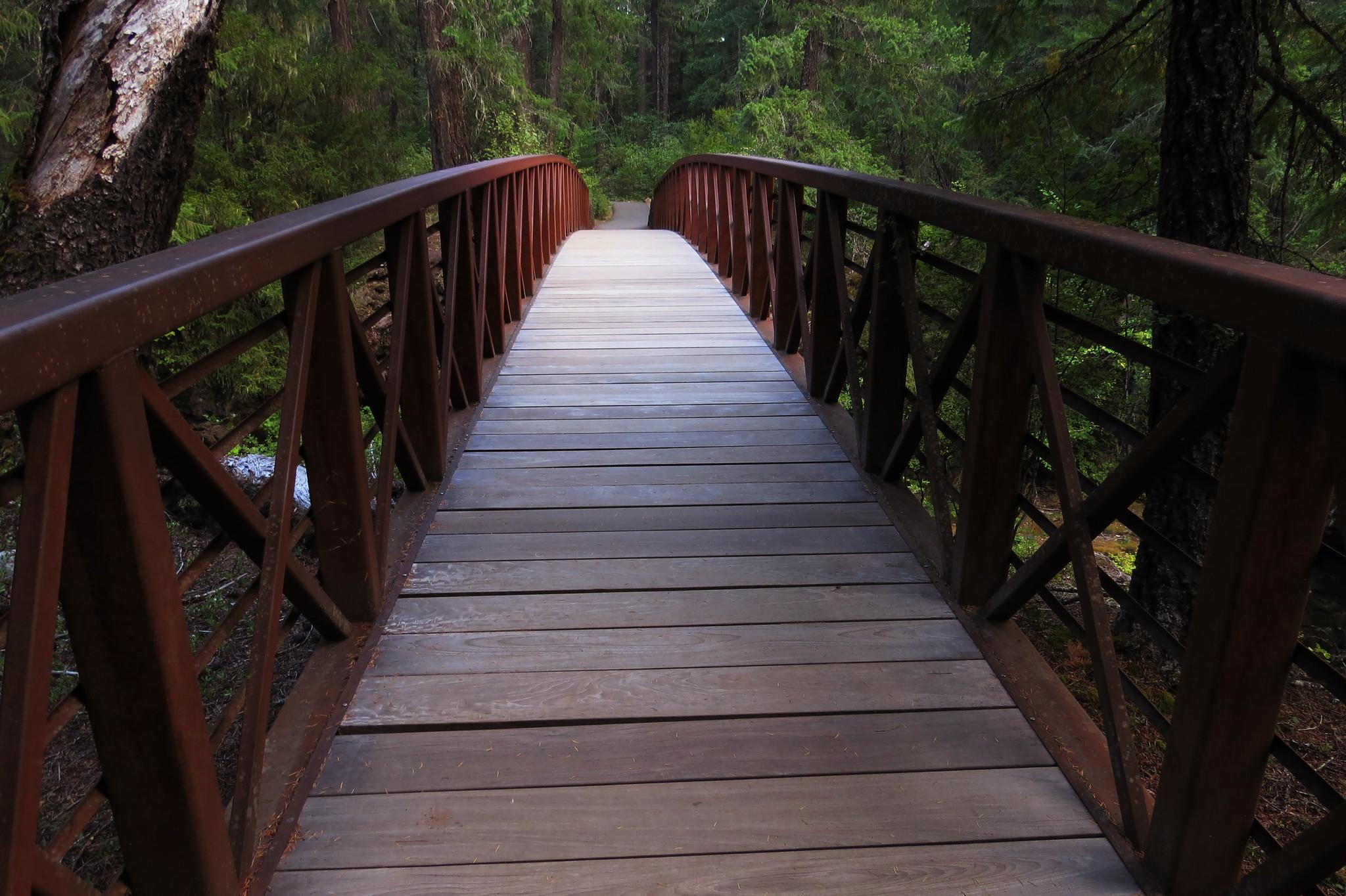 Bridge, Rogue River, Oregon