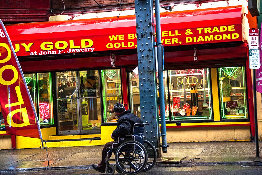 Jewelry store on Kensington Ave on 3-14-16--Kensington