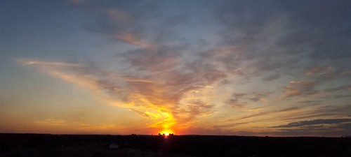bartlesville sunset soonerparkplaytower galaxys6 cloudsstormssunsetssunrises soonerpark