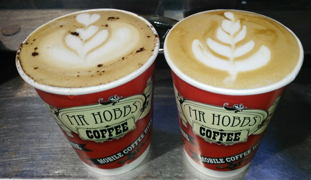 Mobile Coffee Dublin,Ireland Mr Hobbs Coffee has some great Business opportunities for Franchise Partners. This business is very established,and just waiting for some entrepreneurs to take the first  step.Baristas in Western Europe,this is a great step to