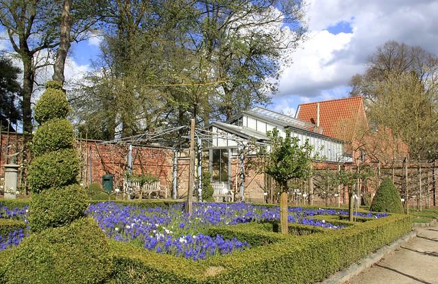 Lente in de Leuvense Kruidtuin