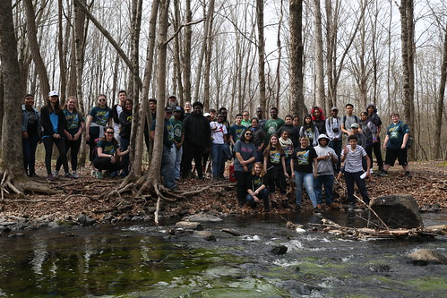 Earth Day 2016 - Trout Release and Tree Planting