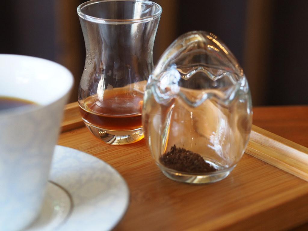 甜在心咖啡館の珈琲セット