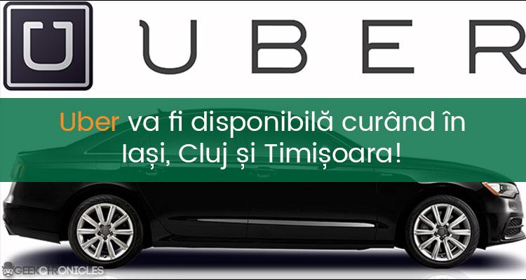 uber in iasi cluj timisoara