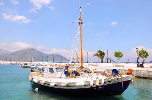 trip travel blue sea summer vacation holiday water landscape boat seaside holidays europe view greece seaview peloponnese summerholidays travelgreece vacationingreece
