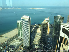 View  from Z Lounge 61st Floor Kempinski Hotel