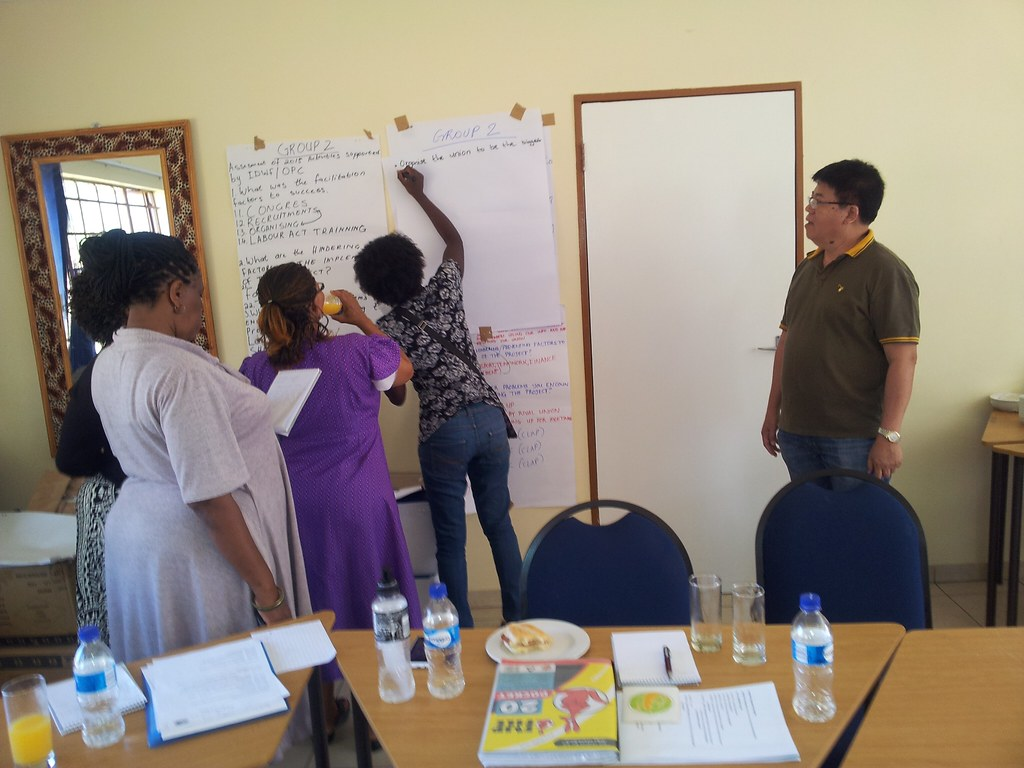 2016-4-14~15 Namibia: NDAWU planning workshop