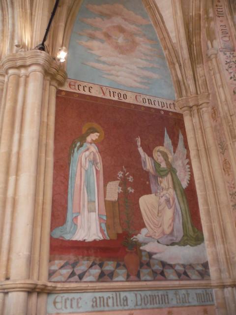 Pre-Raphaelite Mural, Dorchester Abbey