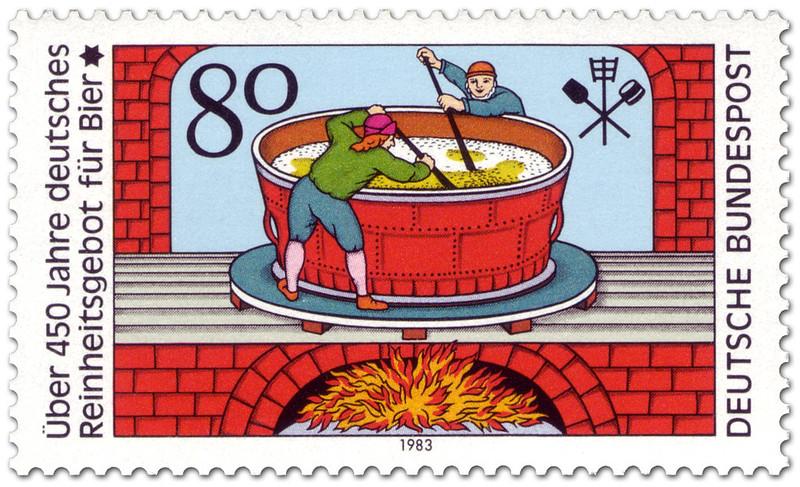 Reinheitsgebot-Bier-stamp