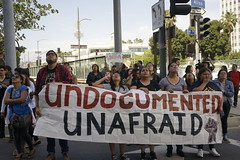 Chant Down the Walls: Undocumented students rally