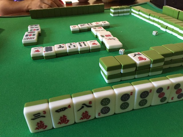 Playing Mahjong