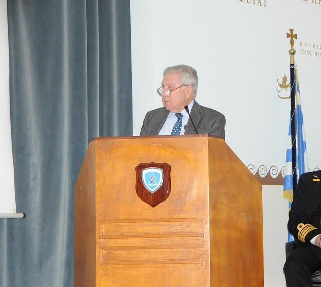 """Ημερίδα της ΣΔΕΠΝ με Θέμα """"Ελλάδα και Ναυτική Στρατηγική: Διαχρονική Αξία της Θαλάσσιας Ισχύος"""""""