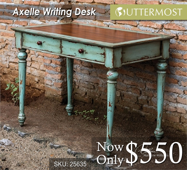 25635 Axelle Writing Desk $550