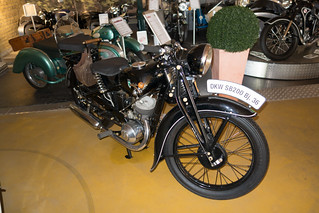 1936 DKW SB 200 motorcycle