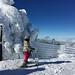 Clara at the peak by Becka
