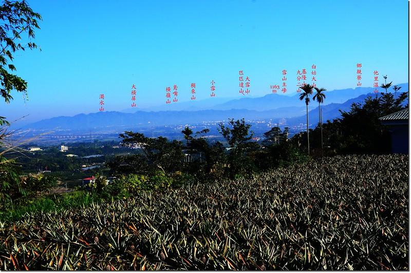 江西林山山頂向西北展望 1-1