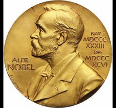 Mullis' 1993 Nobel Prize in Chemistry medal obverse