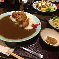 和食屋あんばいのカレーランチはボリューム一杯^ ^