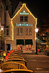 Restaurant Szmulewicz just off Rembrandt Square, Amsterdam
