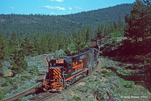 railroad oregon train trains sp oce railroads riogrande switchback southernpacific abandonedrailroad drgw timberindustry klamathbasin klamathcounty oregoncaliforniaeastern