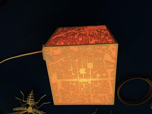 Lampe rues de Rennes