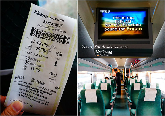 Korail Seoul to Busan
