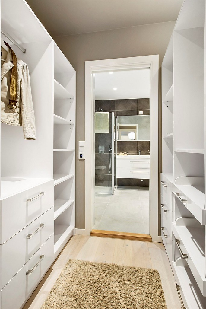 Superb Beautiful Walk Through Closet To Bathroom Leading The Master C With  Inspiration Decorating Idea