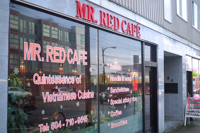 Mr. Red Cafe | East Hastings, Vancouver