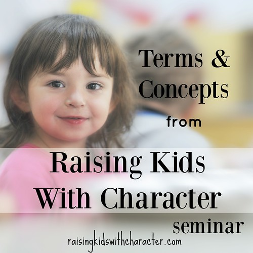 Podcast: Terms and Concepts from the RKWC Parenting Seminar