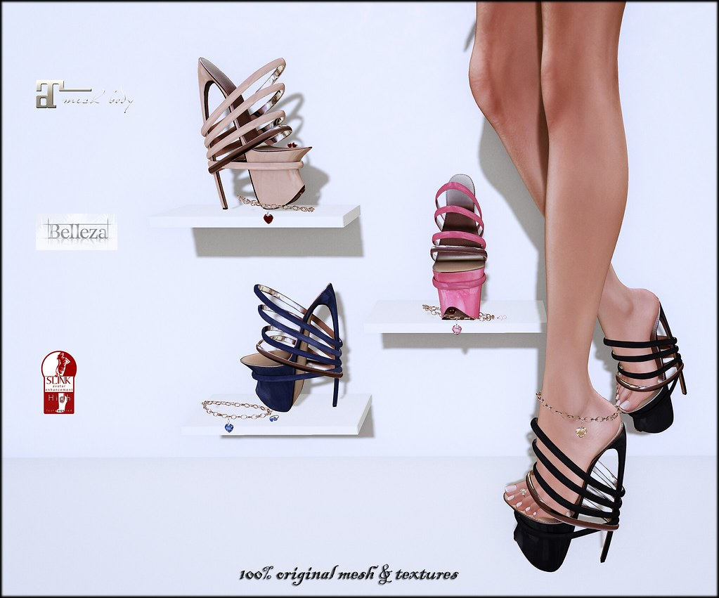 Kika shoes, toe rings and anklets by ChicChica OUT @ On9
