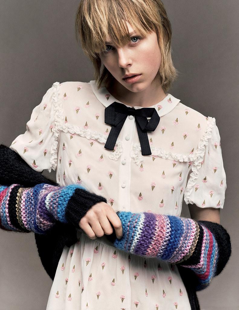 Эди Кэмпбелл — Фотосессия для «Vogue» JP 2016 – 16