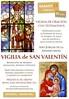Vigilia de San Valentín 2015