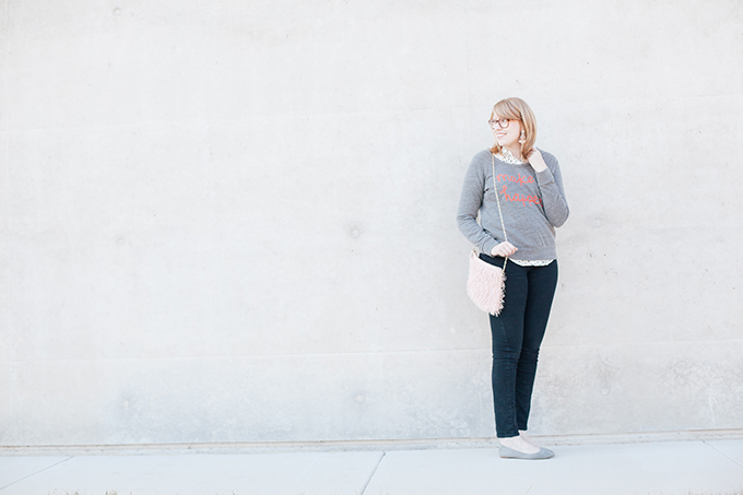 graphic sweatshirt polka dots8