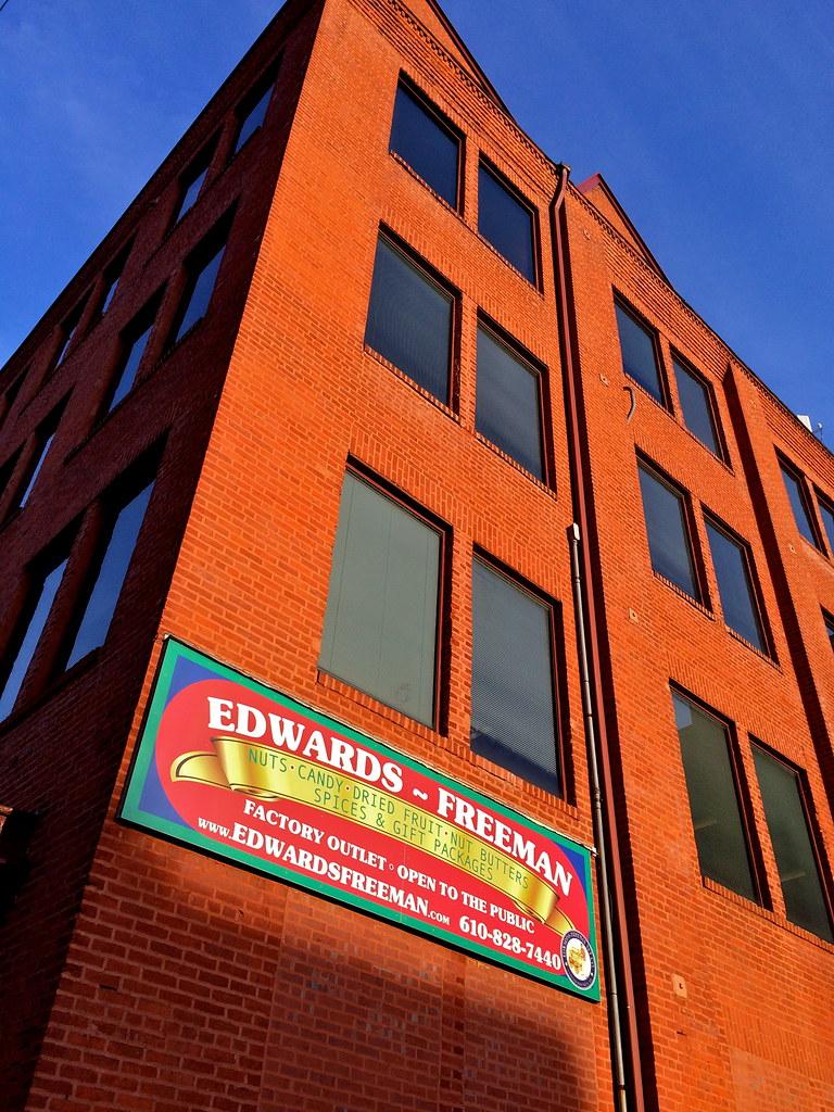 Edwards Freeman Nuts and Candy Conshohocken PA Retro Roadmap
