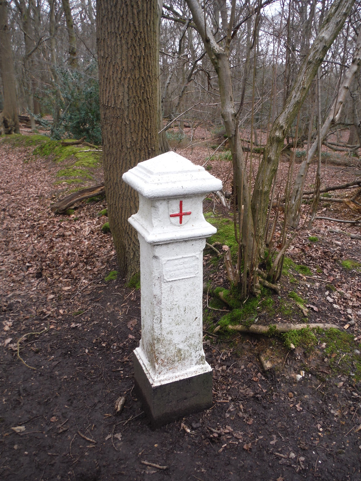 Coal Post, Wormley Wood SWC Walk 168 Broxbourne Circular