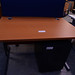 Cherry laminate desk