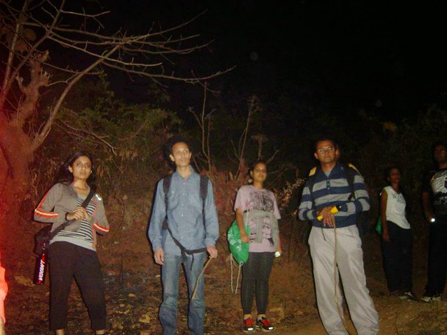 Sarasgad Night Trekking