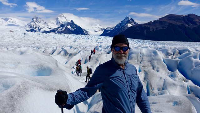 Perito Moreno glacier walk, Fri 26 Feb 2016