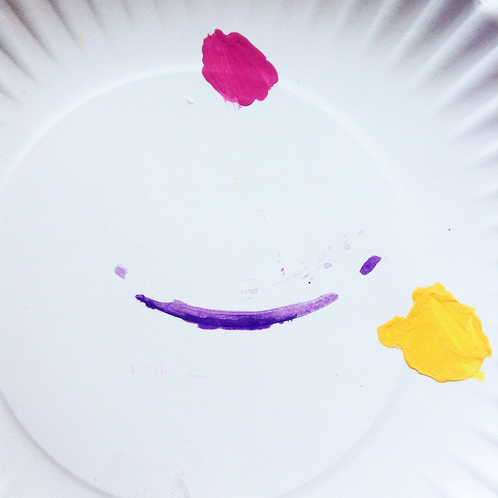 Happy Paint Plate