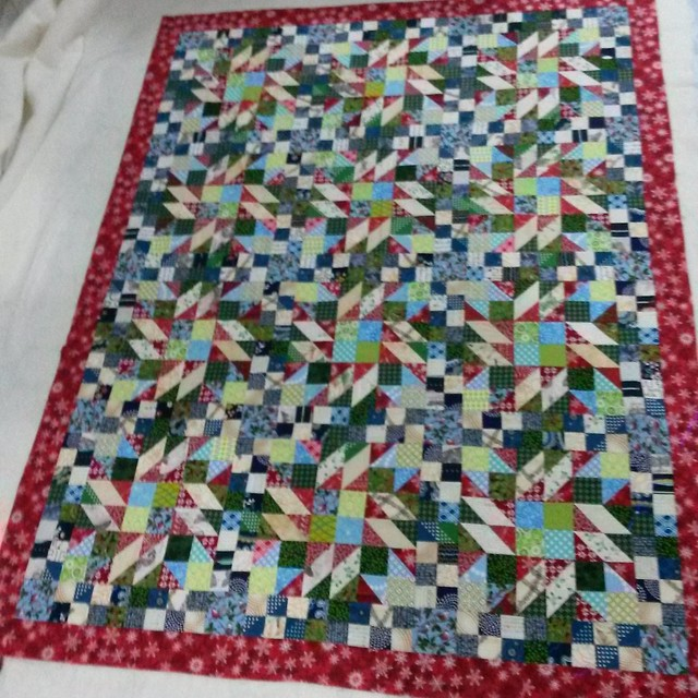 Grand Illusion mystery quilt