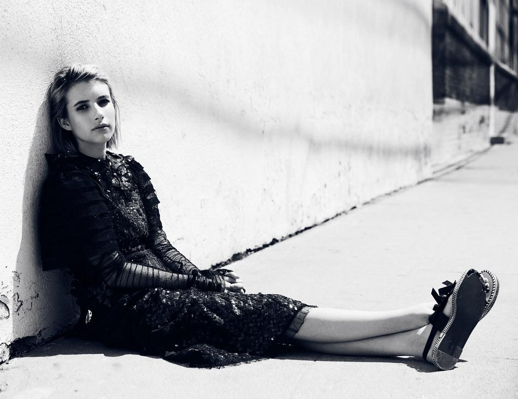 Эмма Робертс — Фотосессия для «Remix» 2014 – 16