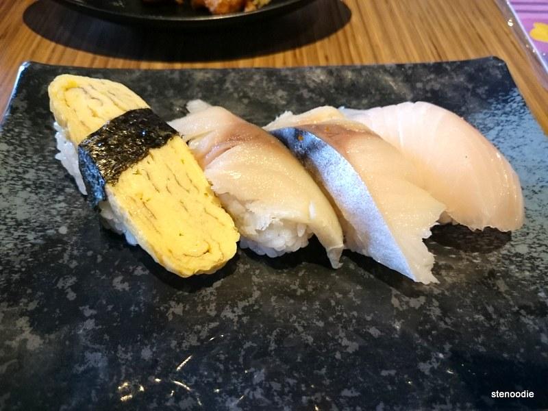 Tamago Sushi, Snapper Sushi
