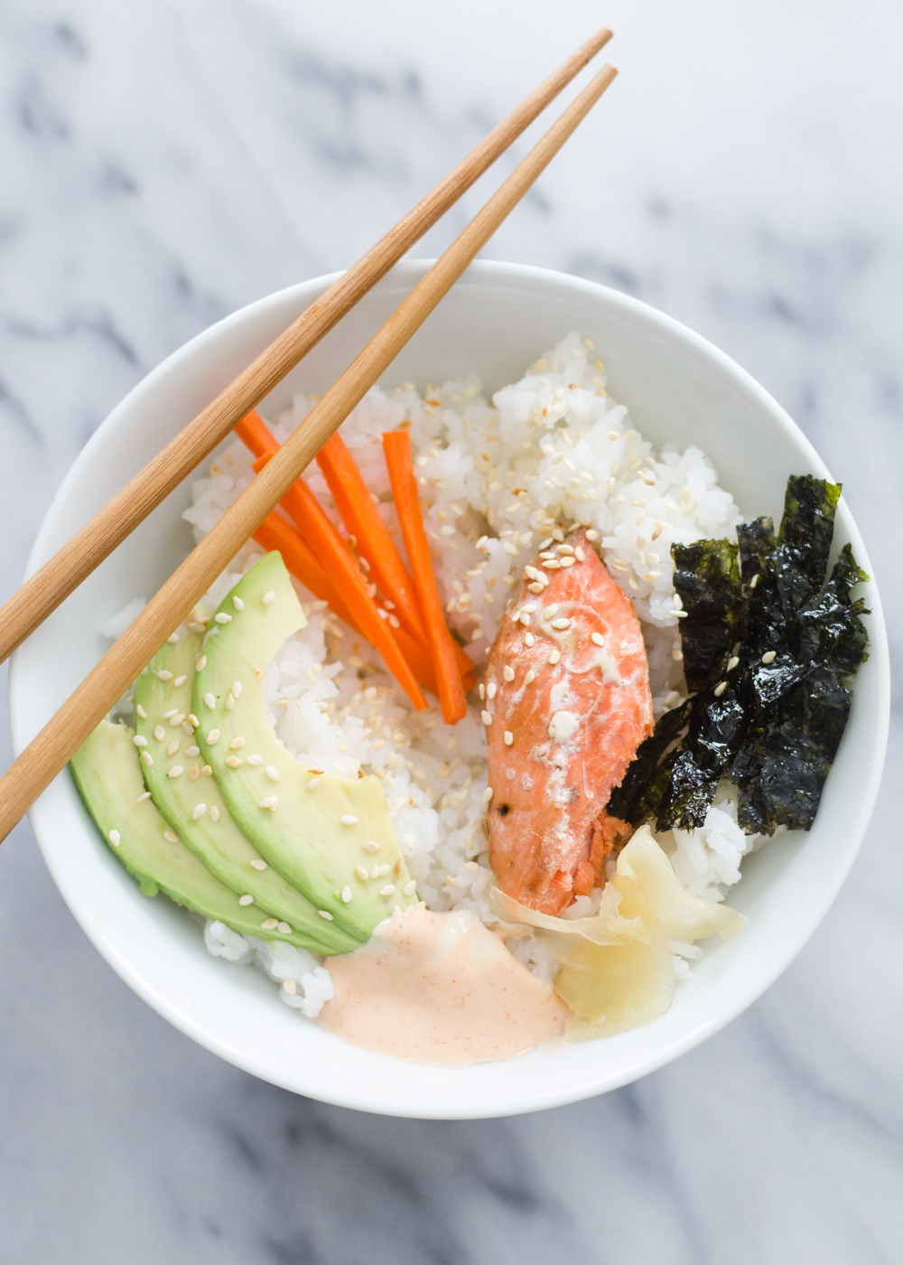Sushi Rice Bowls | Buttered Side Up